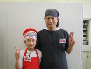 斉藤理玖さん/久弥さん親子