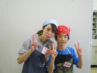 谷口蓮さん/洋子さん親子
