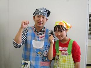坂本麗名さん/忠洋さん親子