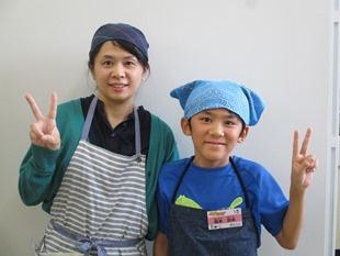 橋本悠希さん/加代子さん親子